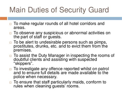 front desk security officer responsibilities hotel front desk responsibilities front office