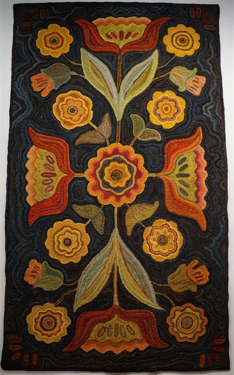 folk rug hooking best 25 folk flowers ideas on folk russian folk and folk paintings