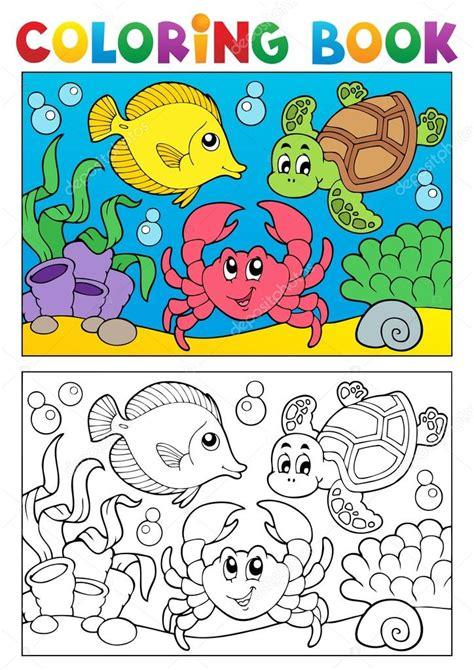 decipaint photographic color by number marine books libro para colorear con animales marinos 5 vector de