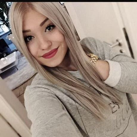 graue haare blondieren