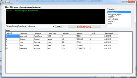 delphi query tutorial simple query builder using visual basic net free source