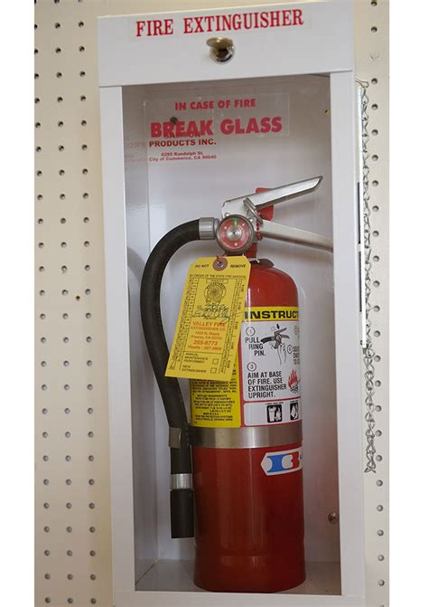 surface mount extinguisher cabinets services valley extinguishers