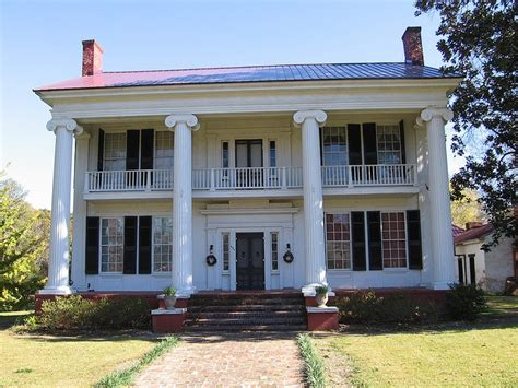 greek revival houses greek revival house eutaw alabama antebellum
