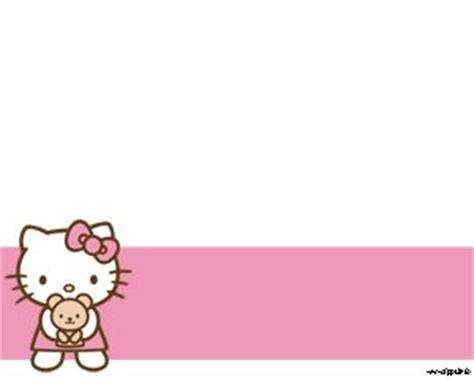 hello kitty themes for powerpoint free download hello kitty angel powerpoint template plantillas