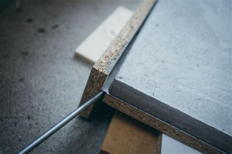 Tischplatte Aus Beton by Ghostbastlers Tischplatte Aus Beton