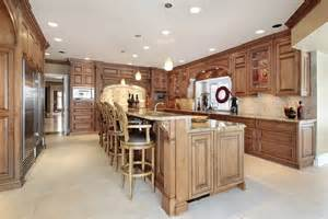 Luxury Kitchen Two Tier Island Stock Photo Amp Stock Images Bigstock » Home Design 2017