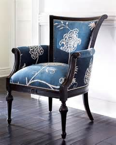Blue Armchair For Sale Design Ideas Crewel Blue Chair Traditional Armchairs And Accent Chairs By Horchow