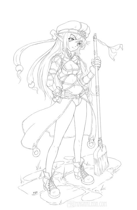 anime elf coloring pages 33 best images about magnaleon on pinterest girls