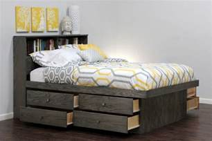 Size Platform Bed With Storage Platform Bed With Storage Drawers Ideas All And Size
