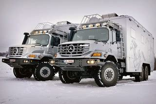 Mercedes Road Trucks This Mercedes Zetros Truck Is The Ultimate