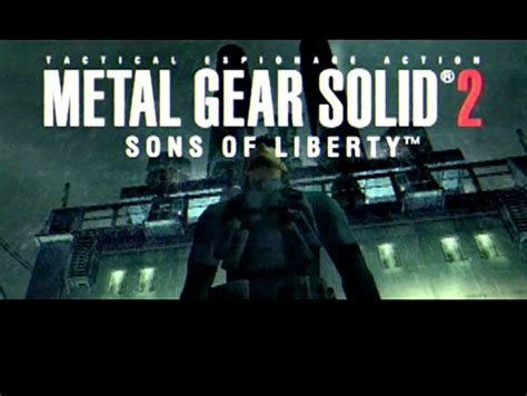 emuparadise metal gear solid metal gear solid 2 sons of liberty usa iso