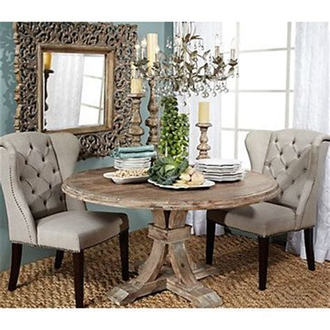 Dr Airy Formal And Rustic Z Gallerie Archer Round Z Gallerie Dining Table And Chairs