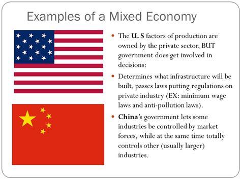 exle of market economy modern economic systems ppt