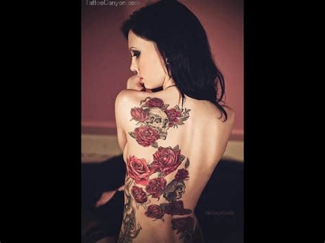 tattoo nightmares online uk lower back flower tattoos cover ups red rose and skull
