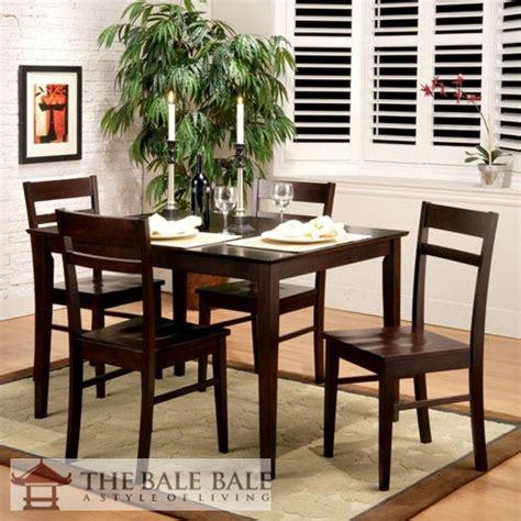 Satu Set Meja Makan Jati 5 model set meja makan jati minimalis mebel jati