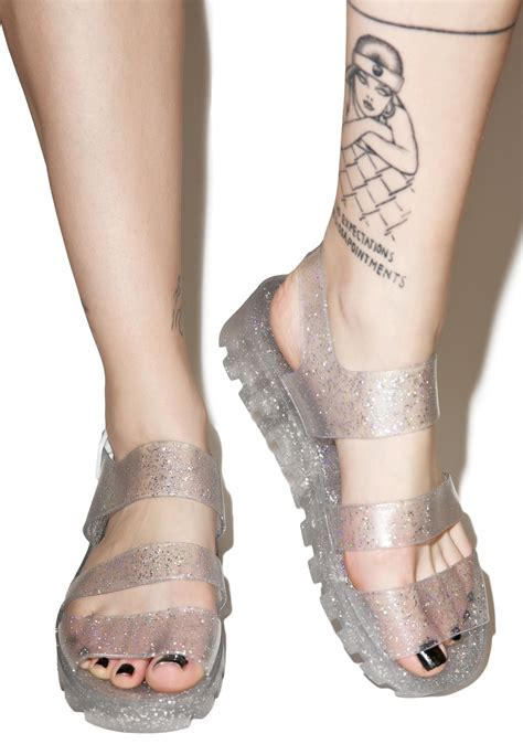 Jelly Shoes Jelly juju shoes poppy jelly sandals dolls kill