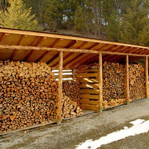 designs  build  wood shed  store firewood hunker