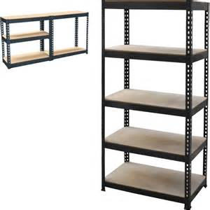 boltless shelving units new 5 tier metal shelving shelf storage unit garage boltless shelves industrial ebay