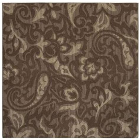 mohawk home forte dark cocoa 8 ft x 10 ft area rug the mohawk home forte dark coco taupe 8 ft x 8 ft square