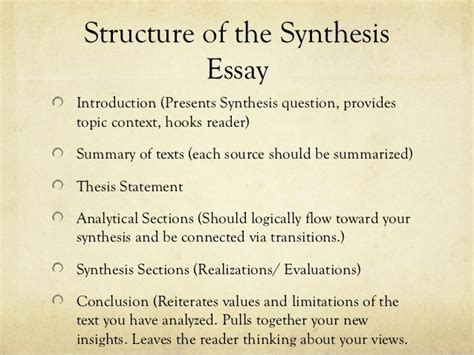 how to write synthesis paper the 25 best ideas about essay structure on