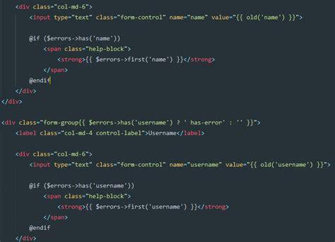 membuat form login dengan laravel 5 membuat login laravel 5 2 dengan username dan hak akses