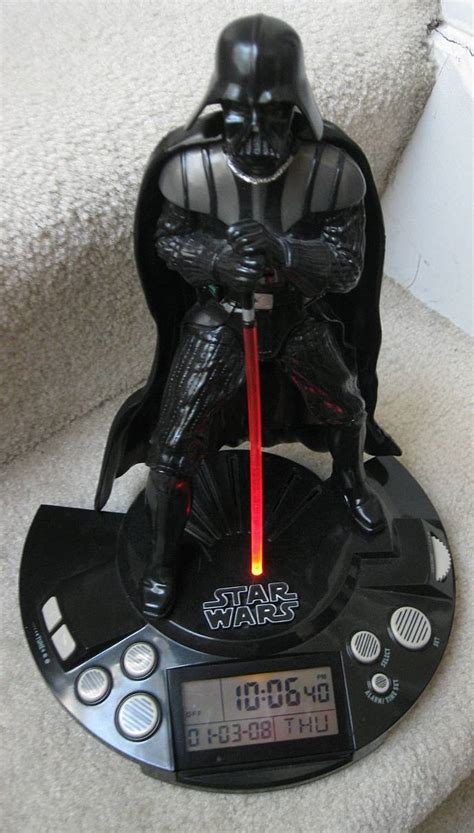 Wars L With Alarm Clock by Wars Darth Vader Alarm Clock Radio Sounds And Light