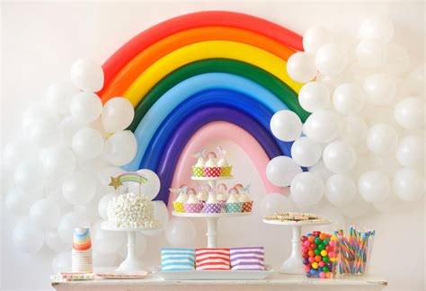 Over the rainbow birthday party for kids project nursery