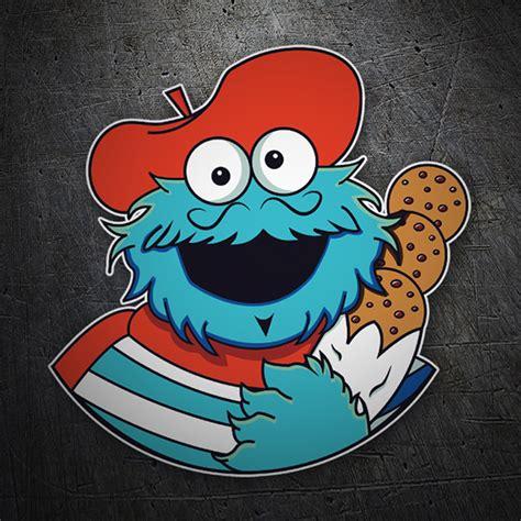 Cookie Monster Aufkleber by Aufkleber Monster Franz 246 Sisch Cookies Webwandtattoo