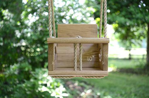 wooden toddler swing vintage swings