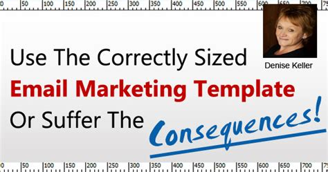 How To Email Marketing Templates Use The Correct Size Email Marketing Email Template Size