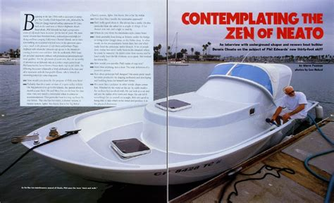 dennis choate boats contemplating the zen of neato steve pezman s talk with