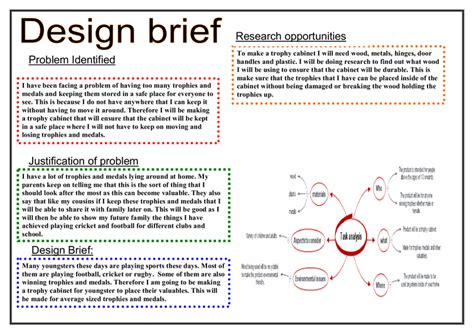 Design Brief For Technology | design brief gcse design technology marked by