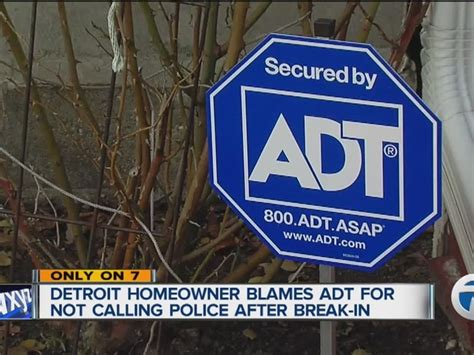 detroit home owner says adt never sent security or