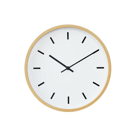 wall clock buy mimalist wall clock with beech wood frames at 20 off