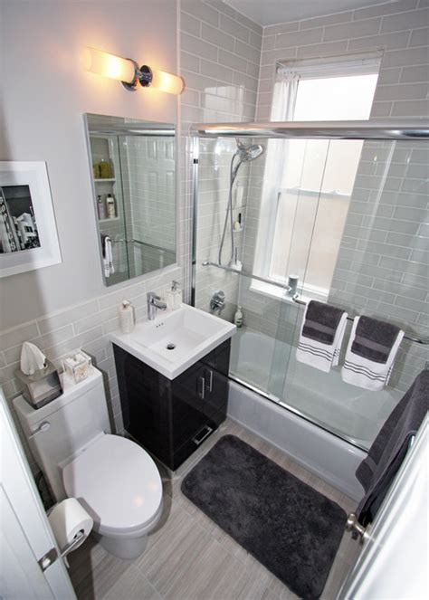 Small Bathroom Design Nyc Nyc Small Bathroom Renovation Before After