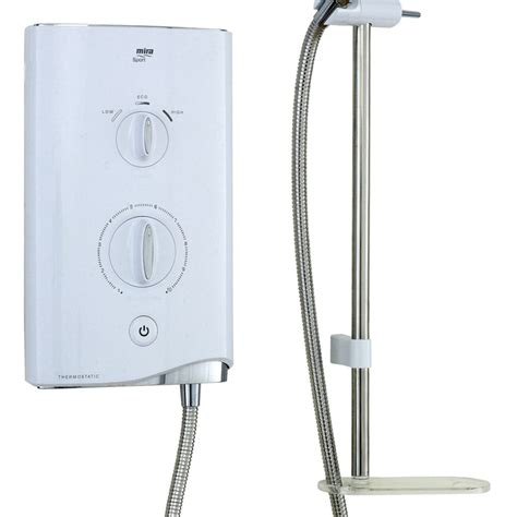 Electric Shower by Mira Sport Thermostatic Electric Shower Uk Bathrooms