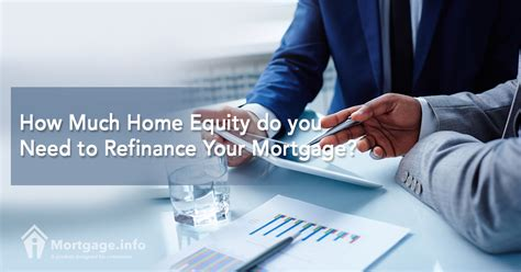 how much home equity do you need to refinance your