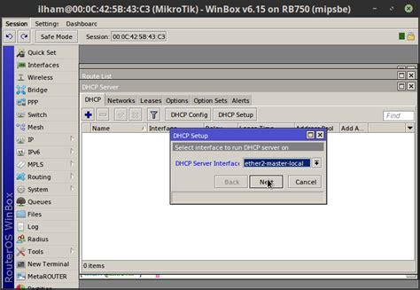 cara konfigurasi dns server di mikrotik cara konfigurasi dhcp server pada mikrotik master jaringan