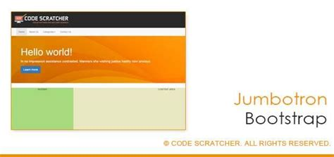 bootstrap jumbotron form 149 best images about code scratcher on pinterest color