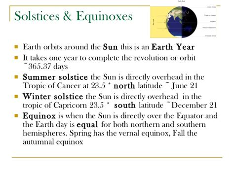 Solstice And Equinox Worksheet by Astronomy Unit 2011 Sun Earth Moon System Acloutier Copyright