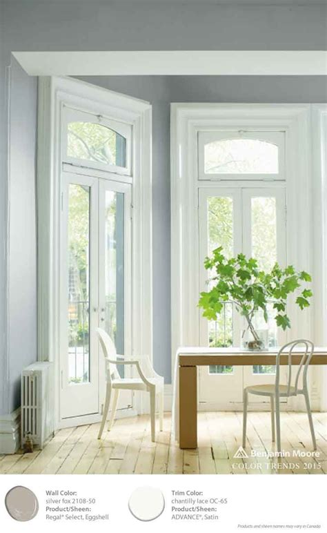 2108 50 silver fox paint colour benjamin moore benjamin moore color trends 2015 walls silver fox 2108
