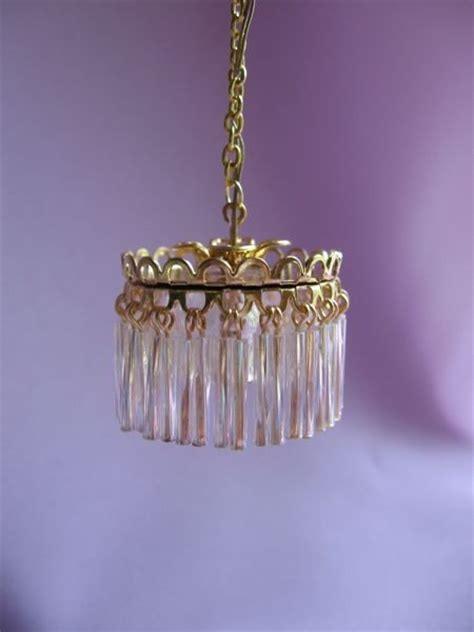 dollhouse chandelier 17 best images about dollhouse lighting on