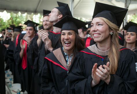 South Harvard Mba Graduates by Stanford S Graduation Inside The Gsb