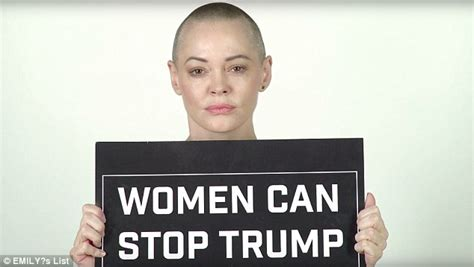 commercial woman quoting trump rose mcgowan quotes trump back to him in latest ad