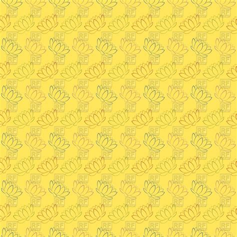 chinese pattern fabric vector chinese seamless pattern with lotus flowers on yellow