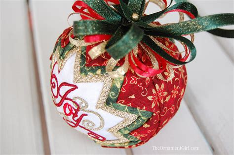Quilted Ornaments Patterns by Tutorial Quilted Ornament Pattern Learn To Make A Quilted