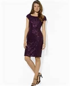 lauren by ralph lauren cap sleeve sequin mesh dress