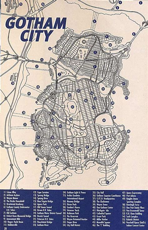 map of city maps of gotham dc elseworlds