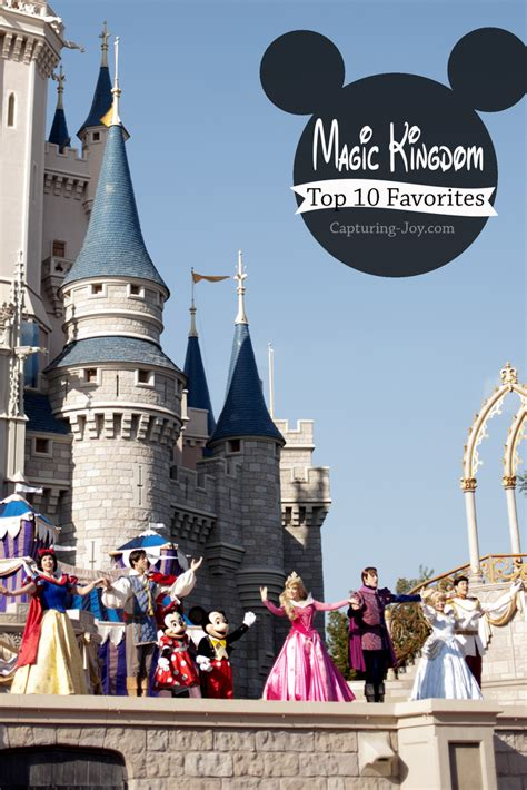 top 10 walt disney world walt disney world family vacation magic kingdom