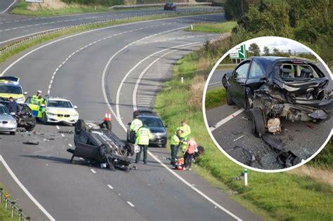car crash south wales a55 news views gossip pictures wales